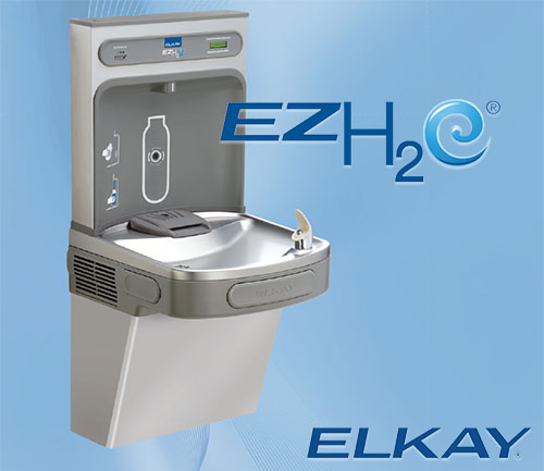 EZH<sub>2</sub>O Bottle Filling Station