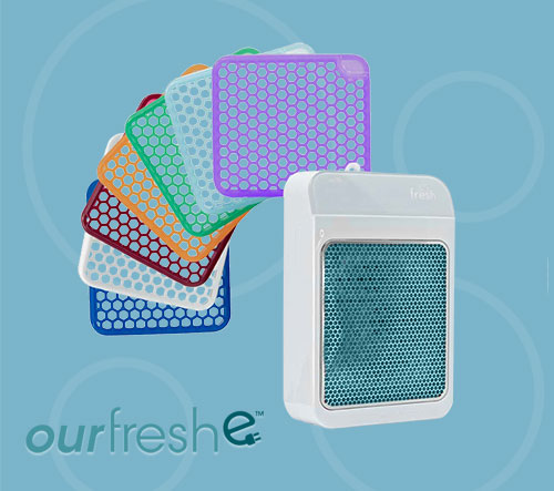 ourfreshe Plug-in Air Freshener Dispenser